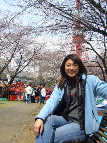 寶寶與東京鐵塔