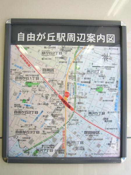 自由之丘的地圖@@