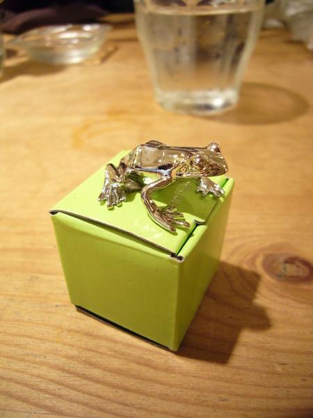 買給安拉的青蛙點香器