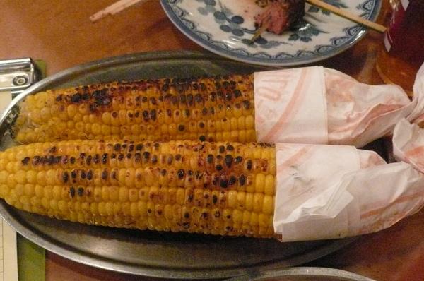 超甜烤玉米