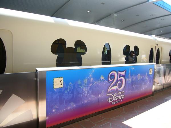 迪士尼專車電車