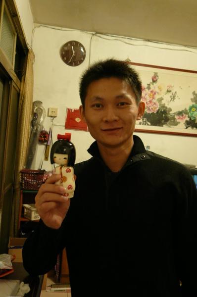 送哥哥的日本木偶