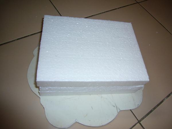 假蛋糕2-黏合加紙板