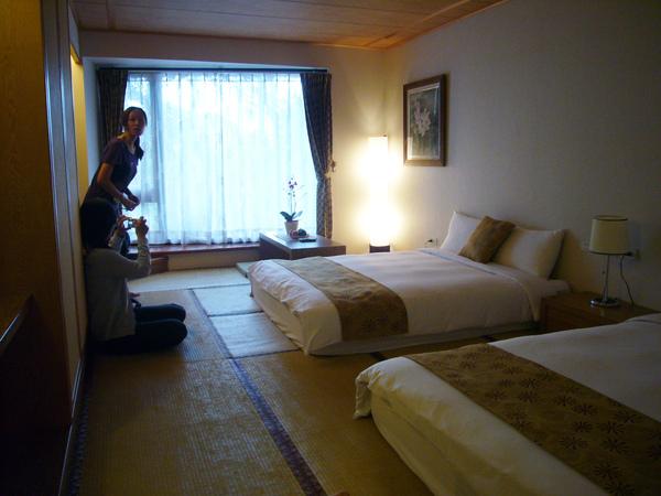 第一晚住日式四人房