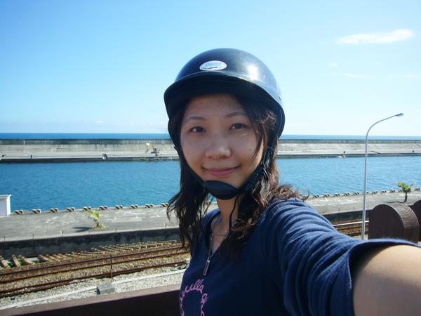 海天都好藍喔