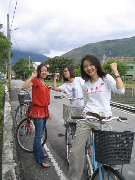 早上騎單車