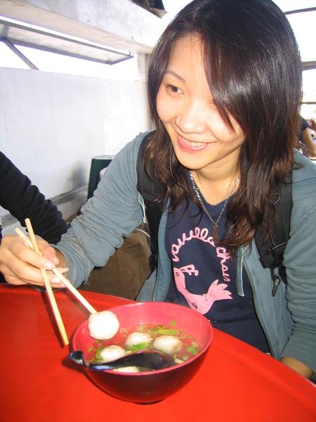 花蓮港的鬼頭刀魚丸好吃