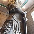 令我驚豔的四大天王雕像