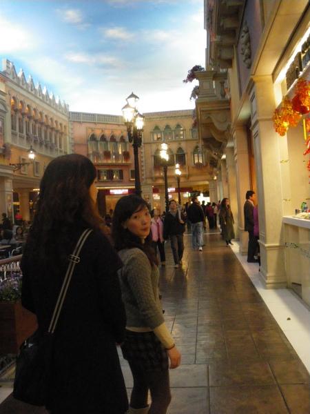 威尼斯人大運河購物中心一景