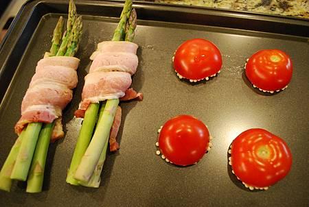 烤蘆筍&脆脆番茄