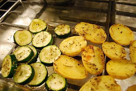 櫛瓜馬鈴薯與肉丸 Zucchini, Potato & Meatball