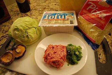 高麗菜和風捲