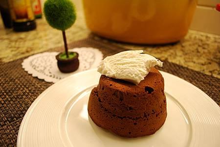 巧克力熔岩蛋糕 Choco Lava Cake