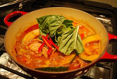 泰式紅咖哩雞 Thai Red Curry Chicken