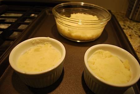 辣香腸波菜焗薯泥 Italian Sausage, spinach w/ Smashed Potato