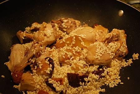 麻油雞米糕 Sesame Oil Chicken w/ Sticky Rice