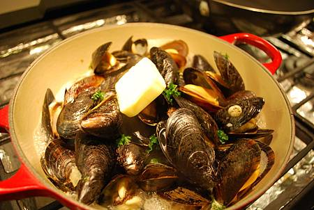 白酒淡菜 Mussels in White Wine