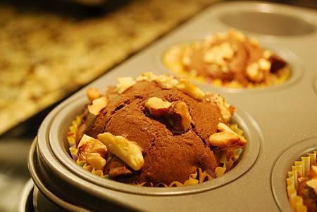 核桃巧克力瑪芬 Walnut & Chocolate Chip Muffin