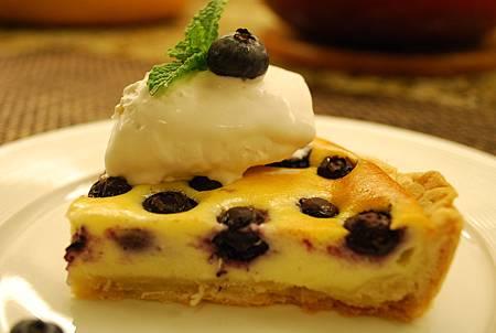 藍莓乳酪塔 Blueberry & Cream Cheese Tart