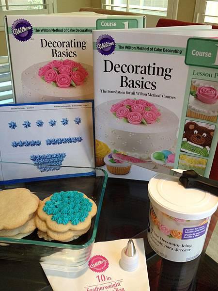 Wilton Decorating Basics Course I.I 蛋糕裝飾課