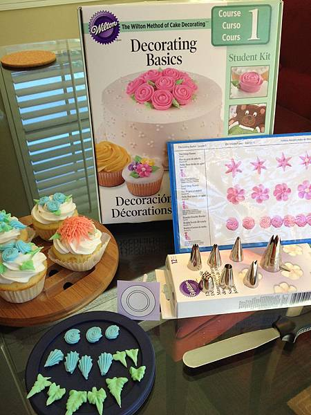 Wilton Decorating Basics Course I.III 蛋糕裝飾課