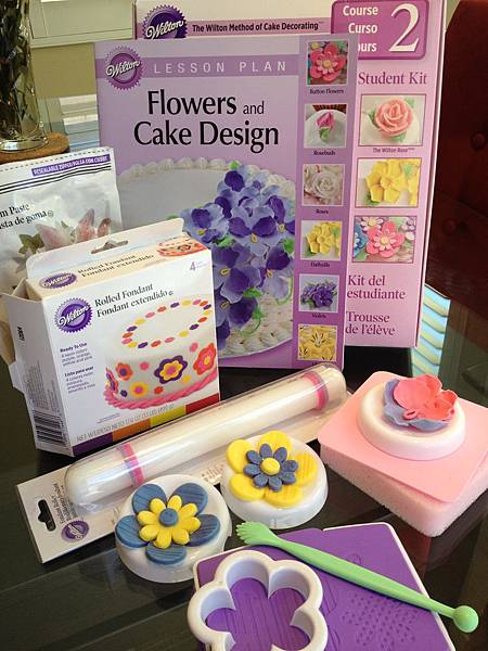 Wilton Flowers and Cake Design Course II.I 蛋糕裝飾課