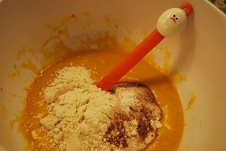 秋季獻禮之南瓜巧克力瑪芬 Pumpkin Chocolate Chip Muffins