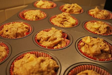 最近蘋果很熱門之蘋果派瑪芬 Apple Pie Muffins
