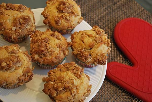 耶誕暖洋洋之蔓越莓蛋奶酒瑪芬 Cranberry Eggnog Muffins