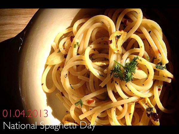 說好的1314 義大利麵日 National Spaghetti Day