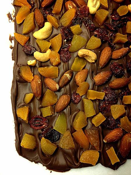 法式杏桃巧克力片 French Style Apricot & Chocolate Bark