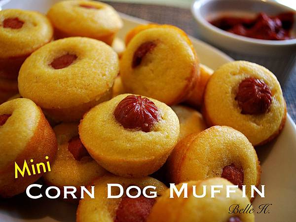 超級盃玉米熱狗小瑪芬 Super Bowl Mini Corn Dog Muffin