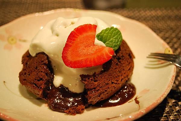 再戰巧克力熔岩蛋糕之情人節菜單 Chocolate Lava Cake & Valentine