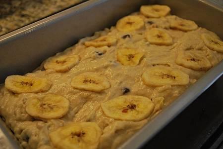 香蕉麵包?香蕉蛋糕?傻傻分不清 Banana, Chocolate Chips and Walnut Bread