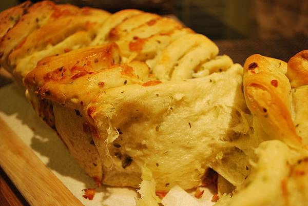 球賽良伴之蒜香起司手撕麵包 Garlic and Cheese Pull-Apart Bread