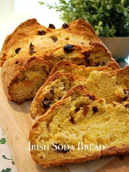 聖派翠克節來啦~一隻木湯匙做愛爾蘭蘇打麵包 Irish Soda Bread