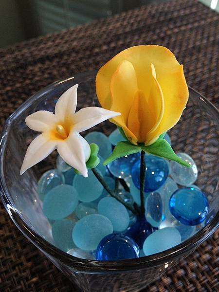 Wilton Advanced Gum Paste Flowers Course IV.IV 蛋糕裝飾課
