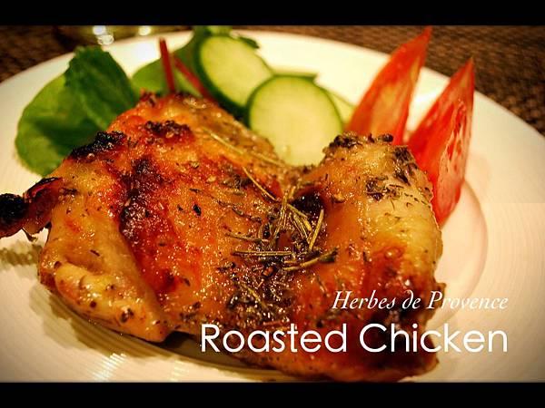 30分鐘搞定普羅旺斯香草烤雞 Herbes de Provence Roasted Chicken