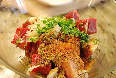摩洛哥香料串燒牛肉 Moroccan Spiced Beef Kabobs