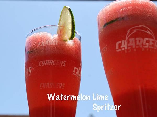 大肚皮西瓜萊姆泡泡飲 Watermelon Lime Spritzer