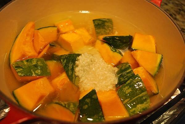 鹽麴雞腿排、鹽麴南瓜煮、鹽麴漬野菜 Shio Koji in 3 Ways