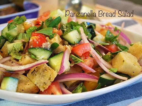 老麵包也有春天:老麵包也有春天:輕盈版凱薩沙拉&義大利麵包沙拉 Lite Caesar Salad & Panzanella Bread Salad