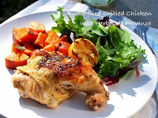 中秋烤肉耍「新雞」:普羅旺斯蝴蝶烤雞 Butterflied Grilled Chicken with Herbes de Provence