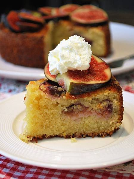歐風小午茶之無花果杏仁蛋糕 Fig Torte