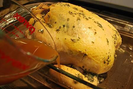 最靚主角就是你:節慶香草烤雞佐手工蔓越莓醬 Holiday Roasted Chicken & Homemade Cranberry Sauce