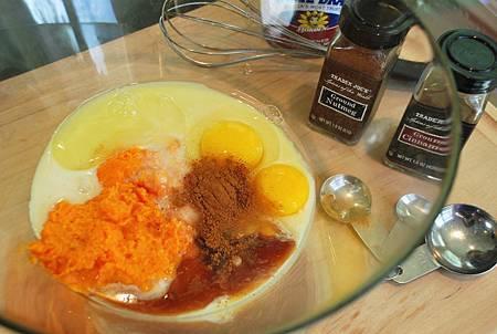 幸福甜蜜感恩節:棉花糖胡桃甜薯派 Sweet Potato Pie