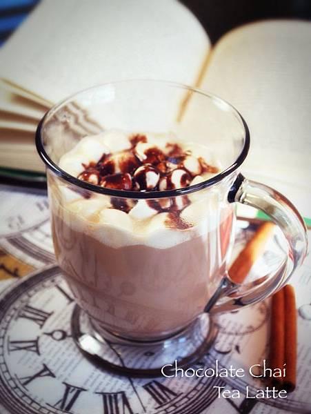 懶人版巧克力印度香料奶茶 Lazy Chocolate Chai Tea Latte