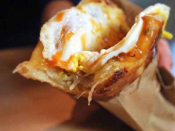 十元的溫暖幸福:附中蛋餅伯蘿蔔絲蛋餅 Radish and Egg Pancake