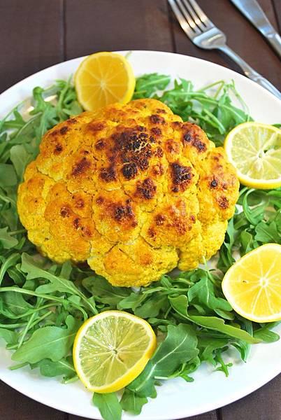 麥可的神奇滋味:印度香料烤花椰菜 Spiced Whole Roasted Cauliflower