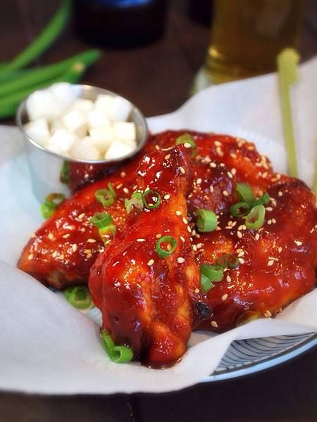 吮指甜辣星滋味:烤箱版韓式炸雞 Baked Korean Chicken Wings